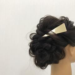 上品 エレガント 結婚式 ヘアアレンジ ヘアスタイルや髪型の写真・画像