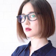 オフィス ナチュラル 縮毛矯正 髪質改善トリートメント ヘアスタイルや髪型の写真・画像