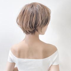 小顔ショート ショートボブ ミニボブ ショートヘア ヘアスタイルや髪型の写真・画像