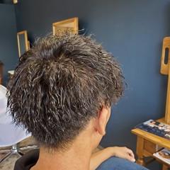 ツイスト ショート メンズカット ストリート ヘアスタイルや髪型の写真・画像