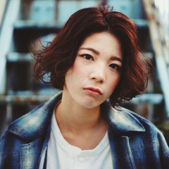 ショート ストリート 外国人風 ショートボブ ヘアスタイルや髪型の写真・画像