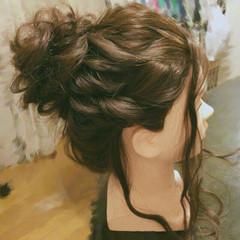 ゆるふわ 巻き髪 ロング ヘアアレンジ ヘアスタイルや髪型の写真・画像