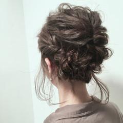 ミディアム アッシュ 大人女子 ゆるふわ ヘアスタイルや髪型の写真・画像
