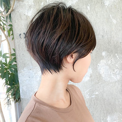大人ショート ショート マッシュショート ショートヘア ヘアスタイルや髪型の写真・画像