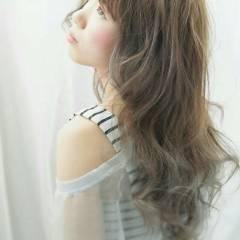 グラデーションカラー 外国人風 ロング 抜け感 ヘアスタイルや髪型の写真・画像