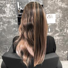 ヘアケア 外国人風 ストリート ロング ヘアスタイルや髪型の写真・画像