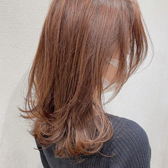 ゆる巻き 愛され フェミニン センターパート ヘアスタイルや髪型の写真・画像