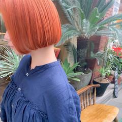 ストリート ダブルブリーチ ボブ ショートボブ ヘアスタイルや髪型の写真・画像