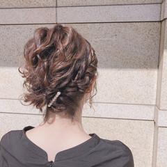 ヘアアレンジ ショート 簡単ヘアアレンジ 結婚式 ヘアスタイルや髪型の写真・画像