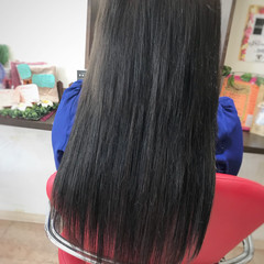 黒髪 上品 エクステ エレガント ヘアスタイルや髪型の写真・画像