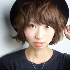 モード ショート ガーリー モテ髪 ヘアスタイルや髪型の写真・画像