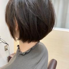 ショートヘア 簡単スタイリング 丸みショート 似合わせカット ヘアスタイルや髪型の写真・画像