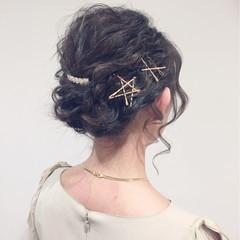 ショート ゆるふわ 結婚式 大人かわいい ヘアスタイルや髪型の写真・画像