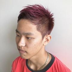 個性的 刈り上げ ベリーショート モード ヘアスタイルや髪型の写真・画像