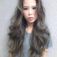 ショート 暗髪 ロング ストリート ヘアスタイルや髪型の写真・画像