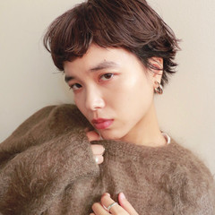 ベリーショート ナチュラル 秋 透明感 ヘアスタイルや髪型の写真・画像