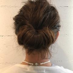無造作 ミディアム ショート ヘアアレンジ ヘアスタイルや髪型の写真・画像