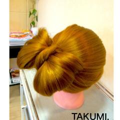 ヘアアレンジ ロング 外国人風 簡単ヘアアレンジ ヘアスタイルや髪型の写真・画像