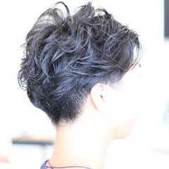 ボーイッシュ 坊主 ショート ナチュラル ヘアスタイルや髪型の写真・画像