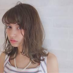 春 ナチュラル 外国人風 ヘアアレンジ ヘアスタイルや髪型の写真・画像