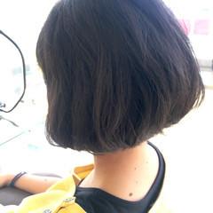 ショート 色気 ショートボブ ガーリー ヘアスタイルや髪型の写真・画像