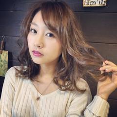 外国人風 ヘアアレンジ ゆるふわ ピュア ヘアスタイルや髪型の写真・画像