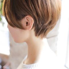 ショート モード 簡単ヘアアレンジ ヘアスタイルや髪型の写真・画像
