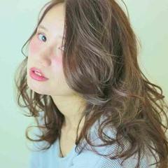 ゆるふわ 外国人風 ヘアアレンジ フェミニン ヘアスタイルや髪型の写真・画像