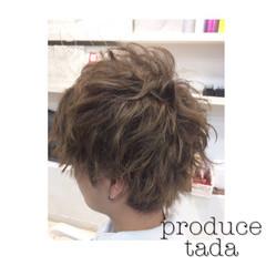 ショート マット ブリーチ スモーキーアッシュ ヘアスタイルや髪型の写真・画像