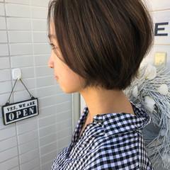 女子力 モード 小顔 ショート ヘアスタイルや髪型の写真・画像