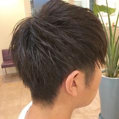 メンズ 束感 ショート ツーブロック ヘアスタイルや髪型の写真・画像