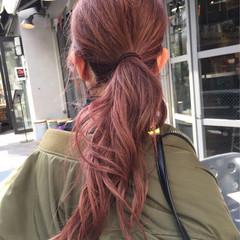 アンニュイ ナチュラル ゆるふわ ラベンダー ヘアスタイルや髪型の写真・画像