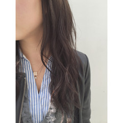暗髪 ロング 黒髪 ブラウン ヘアスタイルや髪型の写真・画像