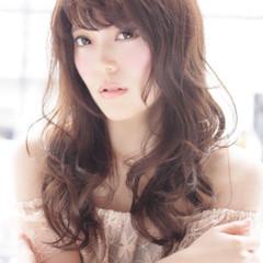 愛され フェミニン モテ髪 コンサバ ヘアスタイルや髪型の写真・画像