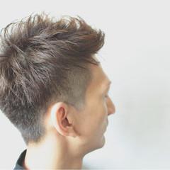 坊主 メンズ ボーイッシュ ショート ヘアスタイルや髪型の写真・画像