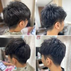 ショート ストリート フェードカット スキンフェード ヘアスタイルや髪型の写真・画像