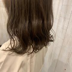 ボブヘアー なみウェーブ ガーリー 外ハネボブ ヘアスタイルや髪型の写真・画像