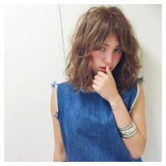 春 ミディアム ストリート パンク ヘアスタイルや髪型の写真・画像