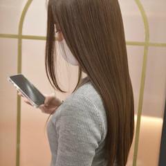 ナチュラル 艶髪 トリートメント 髪質改善トリートメント ヘアスタイルや髪型の写真・画像