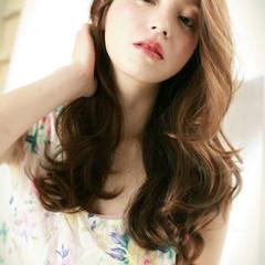 夏 春 ロング 大人女子 ヘアスタイルや髪型の写真・画像