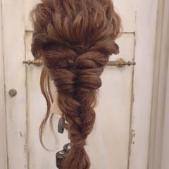 デート 大人女子 ロング ヘアアレンジ ヘアスタイルや髪型の写真・画像