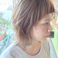 夏 ストリート ピュア ホワイト ヘアスタイルや髪型の写真・画像