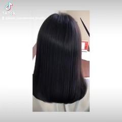 髪質改善 トリートメント セミロング ナチュラル ヘアスタイルや髪型の写真・画像