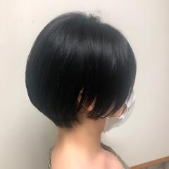 ハンサムショート ショートヘア ショートボブ ナチュラル ヘアスタイルや髪型の写真・画像