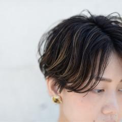アンニュイ ストリート 外国人風 ショート ヘアスタイルや髪型の写真・画像