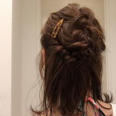 ショート ヘアアレンジ くせ毛風 簡単ヘアアレンジ ヘアスタイルや髪型の写真・画像