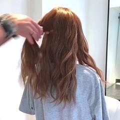 フェミニン ロング ポニーテール デート ヘアスタイルや髪型の写真・画像