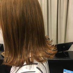 ミディアム ストリート ラフ ヘアスタイルや髪型の写真・画像