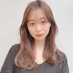 小顔 小顔ヘア 韓国ヘア 前髪あり ヘアスタイルや髪型の写真・画像