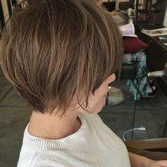 外国人風 グラデーションカラー 夏 ナチュラル ヘアスタイルや髪型の写真・画像